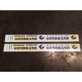TJ-5253 - Décalcomanies GONDRAND