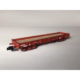TJ-7551 - Kit wagon plat Relmms ex-USA 18, réhausses anciennes