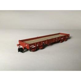 TJ-7552 - Kit wagon plat Relmms ex-USA 18, réhausses récentes
