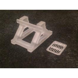 TJ-6210 - Heurtoir bibloc symétrique