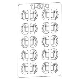 TJ-8090 - Câblots de frein col de signe