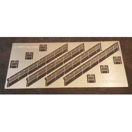 """TJ-4901-escAlbi - Rambardes """"Arnousse"""" pour escaliers passerelle type Albi"""