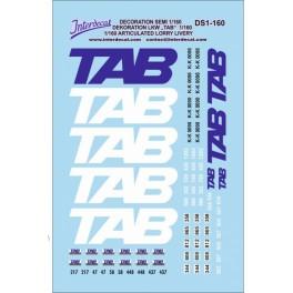 Décoration Semi transports TAB