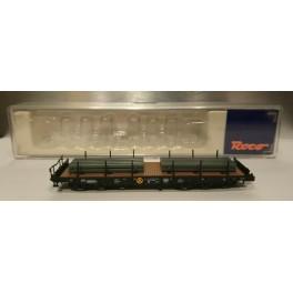Roco - 24026 - Wagon type SAS 710 de la DB, chargé de brames