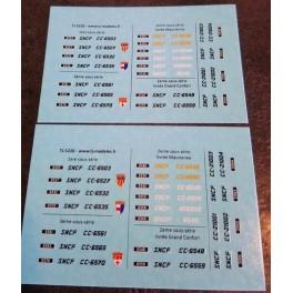 TJ-5220 - Immatriculations CC 6500 et CC 21000