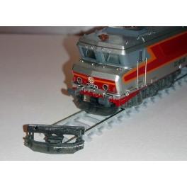 TJ-8113 - Soc chasse obstacles complet CC 6500 Minitrix