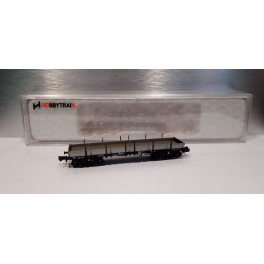 Hobbytrain - H23862-1 - Wagon plat Remms, DB, époque IV