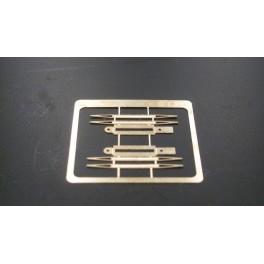 TJ-8005 - Palettes de pantographe pour BB7200 Minitrix