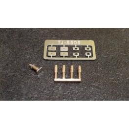 TJ-8505 - Tampons unifiés pour autorails, à plateaux courants