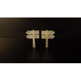 TJ-1153 - Panneaux directionnels doubles Michelin