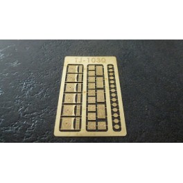 TJ-1030 - Plaques en fonte, petits modèles