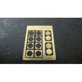 TJ-1031 - Plaques en fonte, ouvertes