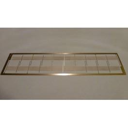 TJ-1016 - Clôture en panneaux grillagés hauteur 1m