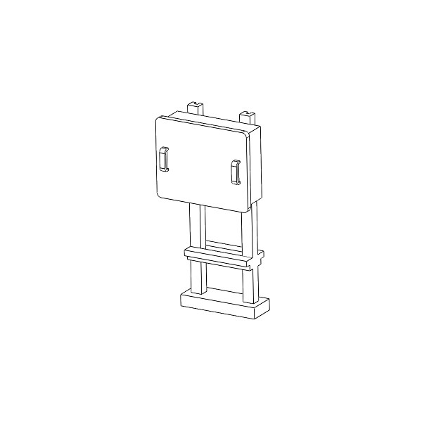 tj 4679 boitiers stm sur poteau m tallique tj modeles. Black Bedroom Furniture Sets. Home Design Ideas