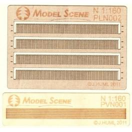 PLN-002 - Clôture en bois type 2