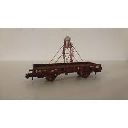 """TJ-7514 - Kit Plat OCEM 29 """"Sioux"""", boites d'essieux à rouleaux - roues pleines"""