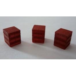 TJ-2033 - Chargements briques creuses 50x20x20 pour palettes 100x100cm