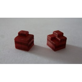 TJ-2034 - Chargements partiels briques creuses 50x20x20 pour palettes 100x100cm
