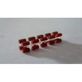 TJ-2035 - briques creuses 50x20x20 (lot de 20 pièces)