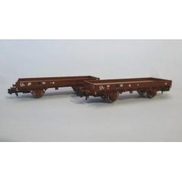 TJ-7511 - Kit Plat OCEM 29, boites d'essieux à coussinets - roues à rayons