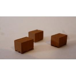 TJ-2026 - Caisses-Palettes fermées, en bois