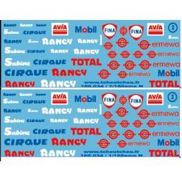 160.034 - Cirque Rancy et pétroliers