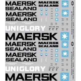 160.035 - Maersk, Maerks Sealand, Uniglory
