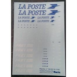 160.001 - Grande Planche La Poste, Fret, TER,...