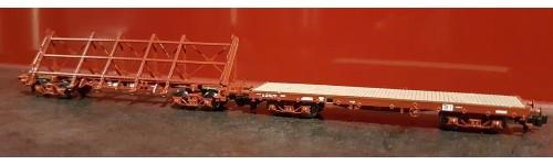 Wagons à marchandises en Kit