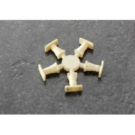 TJ-8516 - Tampons pour autorails - plateaux larges