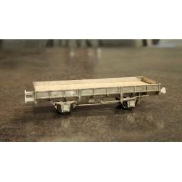 TJ-7510 - Kit Plat OCEM 29 avec frein à levier, boites d'essieux à coussinets - roues à rayons