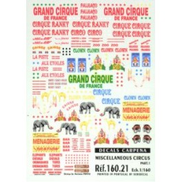 Décorations Cirque - partie 1
