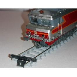 TJ-8112 - Support barre de traction basse CC 6500 / CC 72000 Minitrix