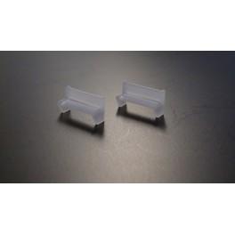 TJ-4554 - Banc de quai en béton moulé (lot de 2)