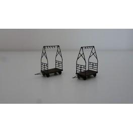 TJ-4563 - Chariots de quai porte vélos